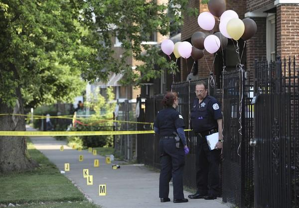 A shooting at 51st and May streets is investigated by Chicago police, who will now work with anti-violence advocates at CeaseFire Illinois.