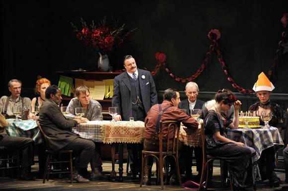 """ Iceman Cometh"" at the Goodman Theatre, with an ensemble cast led by Nathan Lane and Brian Dennehy."