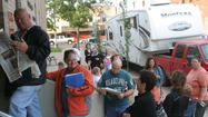 Photo Gallery: Waiting in line for Brown County Fair tickets