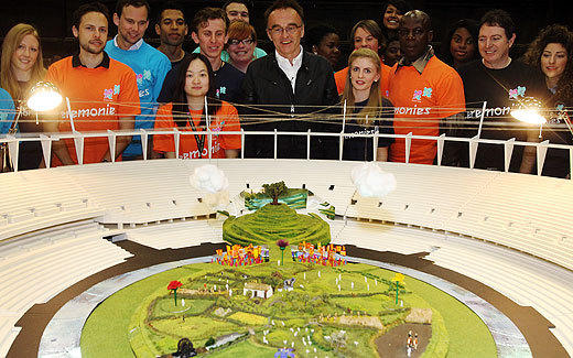Danny Boyle, at a recent unveiling of his designs for the opening ceremony for the 2012 London Olympics.