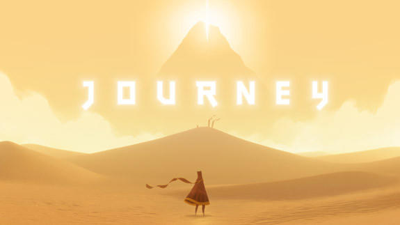 """Journey,"" one of several games created by Thatgamecompany, is credited with pushing the artistic boundaries of gaming."