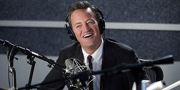 "Matthew Perry in ""Go On,"" where he plays a sportscaster who joins a support group after suffering a grave personal loss and quickly becomes involved with all the colorful personalities there."