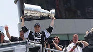 LOS ANGELES (KTLA) -- The L.A. Kings and their fans celebrated the team's Stanley Cup victory in style Thursday afternoon, with a downtown victory parade and a championship rally at Staples Center.