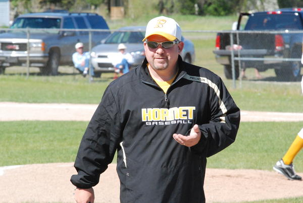 Pellston's Randy Bricker Jr. went 273-219-1 in his 15-year career with the Hornets and guided his teams to five district, three regional and one Ski Valley Conference title. Bricker retired following the Hornets Division IV district tournament two weeks ago.