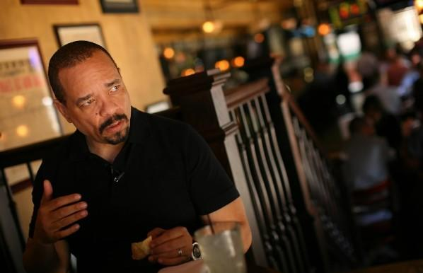Rapper/actor Ice T interviewed at Harry Caray's Tavern at Navy Pier June 4, 2012.
