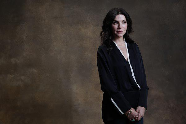 Celebrity portraits by The Times: Julianna Margulies plays lawyer and betrayed wife Alicia Florrick on CBS The Good Wife.  VIDEO: Celebrities talk Emmys at Round Table