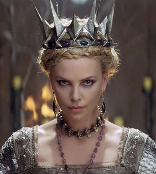 "Jemaine Clement, ""Men In Black 3""<BR> Tom Hiddleston, ""The Avengers""<BR> Rhys Ifans, The Amazing Spider-Man""<BR> Alexander Ludwig, ""The Hunger Games""<BR> Charlize Theron, ""Snow White & The Huntsman"" (pictured)"