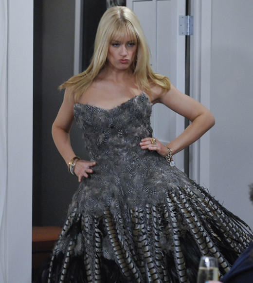 "Beth Behrs, ""2 Broke Girls"" (pictured)<BR> Sutton Foster, ""Bunheads""<BR> Katharine McPhee, ""Smash""<BR> Hannah Simone, ""New Girl""<BR> Dreama Walker, ""Don't Trust the B- in Apt. 23"""