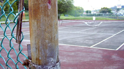 The Windber tennis courts are in need of repair, but borough officials are grappling with whether to invest in the upgrades.