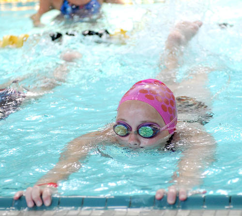 Photo Gallery: Centre College swim camp