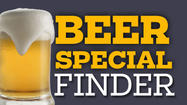 Search for beer specials at local bars