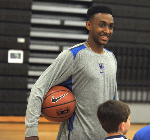 Photo Gallery: Kentucky basketball camp 2012