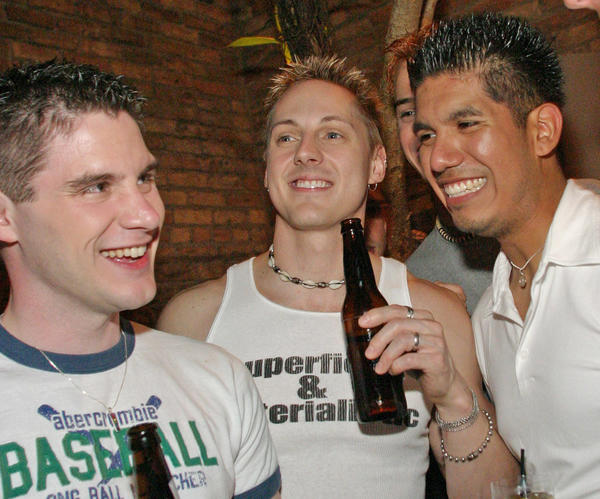 Sidetrack is one of Halsted Street's most popular gay bars.