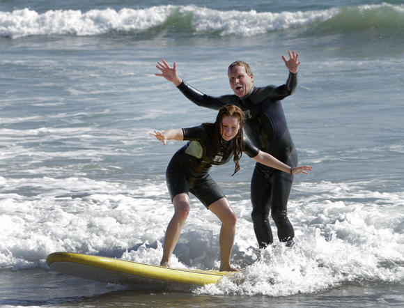 Surfing with Erskine
