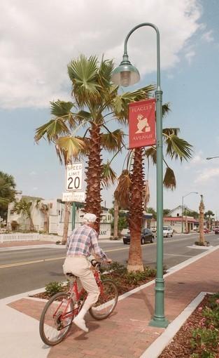 Flagler Avenue in New Smyrna Beach is still a relaxing getaway.