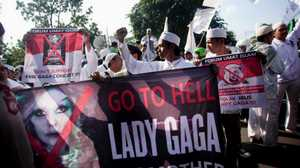 Thailand upset with Lady Gaga
