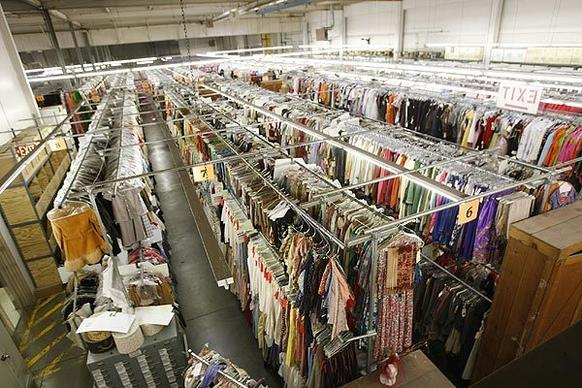 Western Costume has a vast collection of clothes and accessories stored in its North Hollywood location.