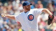 Dempster dazzling in defeating Red Sox 3-0