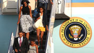 First Family starts weekend at Chicago home with a stroll