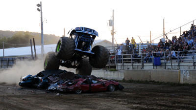 Monster Truck Show was held on Friday night at the Somerset County Fairgrounds in Meyersdale.