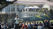 SAN FRANCISCO — Tiger Woods surged into theU.S. Open lead, fell and rose again. A 17-year-old Californian had his day in the sun — and 15 minutes or so when no one else was even his equal.