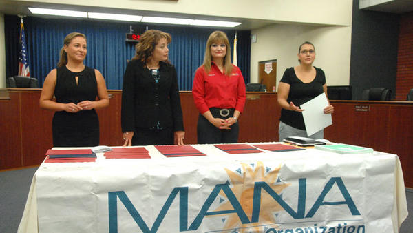 MANA de Imperial Valley had its 2012 scholarship presentation