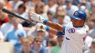 Valbuena only lefty hitter in Cubs' lineup
