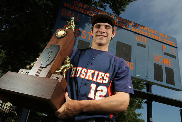 Tribune baseball player of the year, Zack Weigel.
