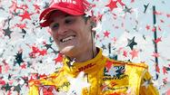 WEST ALLIS, Wis. — When Ryan Hunter-Reay slipped past Helio Castroneves to claim a lead in the 142nd lap of Saturday's Milwaukee IndyFest 225, the hard work had just begun.
