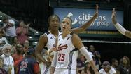 The Indiana Fever used a late surge in the fourth quarter, including a 12-0 run to top the Chicago Sky 84-70. Bench play was key in the victory, back up Jessica Davenport scored a season and game-high 19 points.