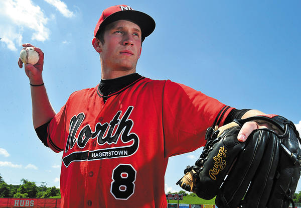 North Hagerstown's J.T. Root is The Herald-Mail's 2012 Washington County Baseball Pitcher of the Year.