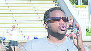 "Ato Boldon considers the 100-meter dash the ""sexy event"" in track and field and is proud that he won four Olympic sprint medals — a record for any male athlete."