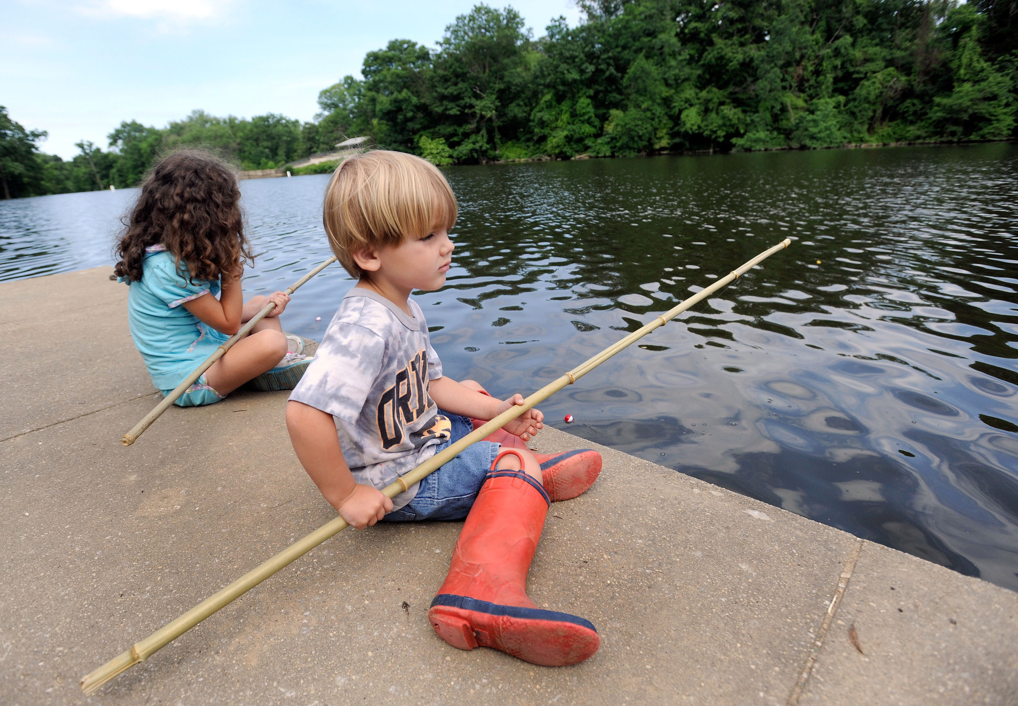 Cane Pole Fishing