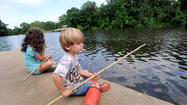 Pictures: Cane Pole Fishing