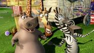 """Madagascar 3"" was the No. 1 film at the box office for the second consecutive weekend"