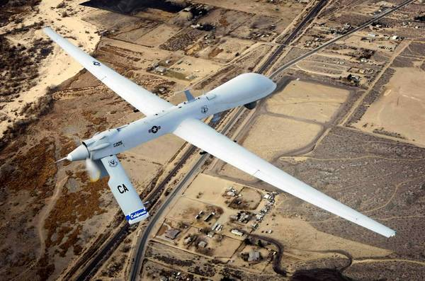 A Predator drone flies a training mission in California.In 2010. The Obama administration has announced plans to arm Italy's fleet of Reaper drone aircraft.