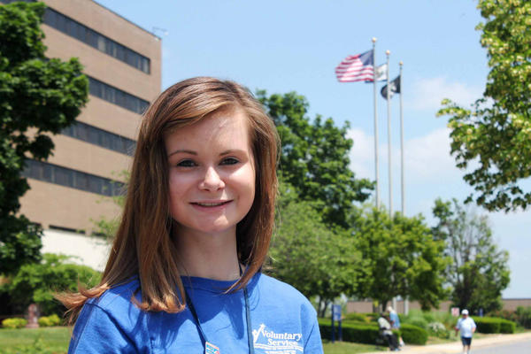 Youth volunteer Christiana Hess of the Veterans Affairs Medical Center in Martinsburg, W.Va., was selected as the $20,000 scholarship winner of the Jesse Brown Memorial Youth Scholarship Program.