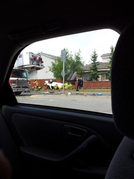 Anchorage police say one person was seriously injured in a rollover crash on DeBarr Road, near its intersection with Pine Street, shortly after 2 p.m. Sunday. Westbound lanes of DeBarr were temporarily closed as APD investigated the single-vehicle wreck.