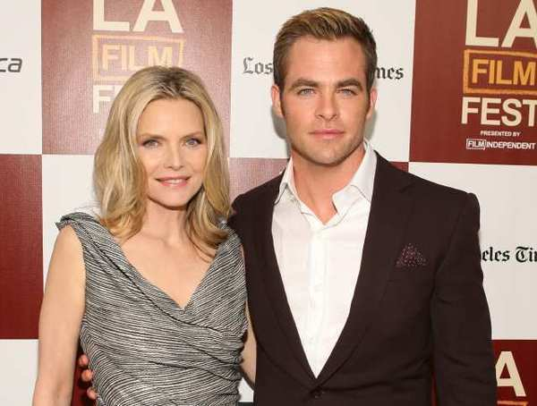 "Michelle Pfeiffer and Chris Pine star in ""People Like Us."""