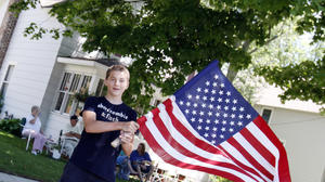 Three Oaks Flag Day Parade: A red, white and blue day