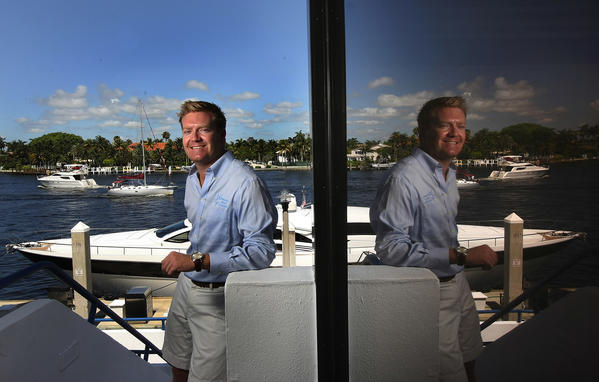 John Jarvie, president of Young Professionals in Yachting