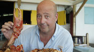 Pictures: Andrew Zimmern's bizarre Baltimore eating adventures