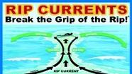 High risk of rip currents at beaches today