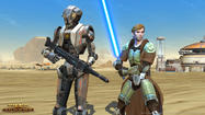 "Electronic Arts is confident that ""Star Wars: The Old Republic"" is a massively multiplayer online game that people will be playing in a decade. As they told GamesIndustry International, EA is also considering variations on a free-to-play model, surely in part to the 400,000 player dropoff in subscribers the game has seen."