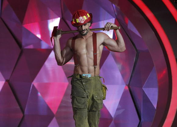 Joe Manganiello at the MTV Movie Awards