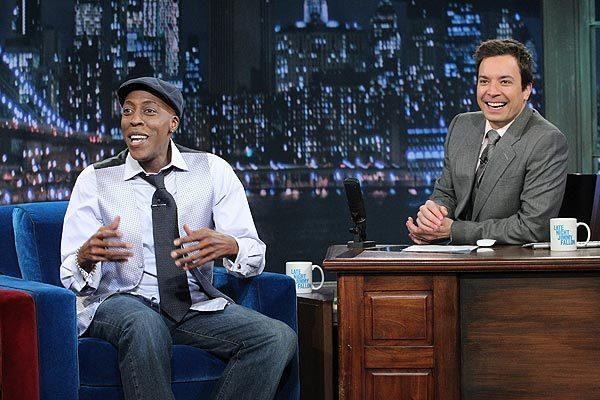 "Arsenio Hall appears as a guest on ""Late Night With Jimmy Fallon."""