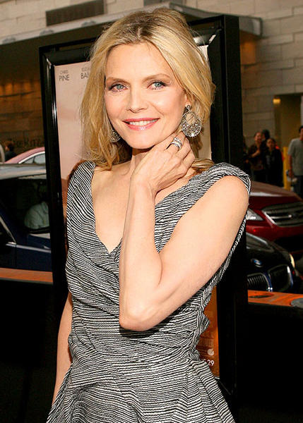 Actress Michelle Pfeiffer.