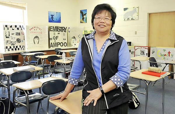 Highland View Academy science teacher Ophelia Barizo recently received the 2012 PASCO STEM Educator Award.