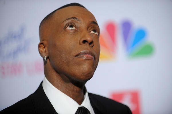 "Arsenio Hall attends the ""Celebrity Apprentice"" Live Finale at American Museum of Natural History on May 20."