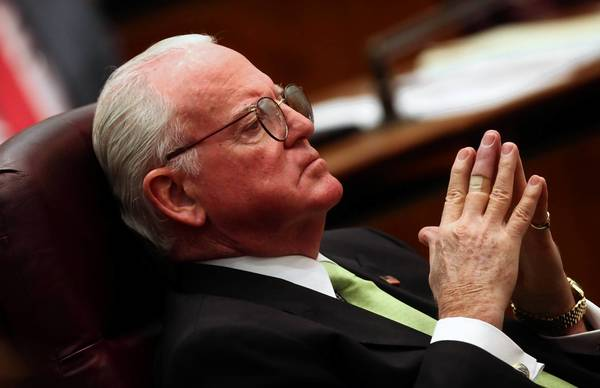 Ald. Ed Burke says he's not sold on relaxing Chicago's marijuana law.